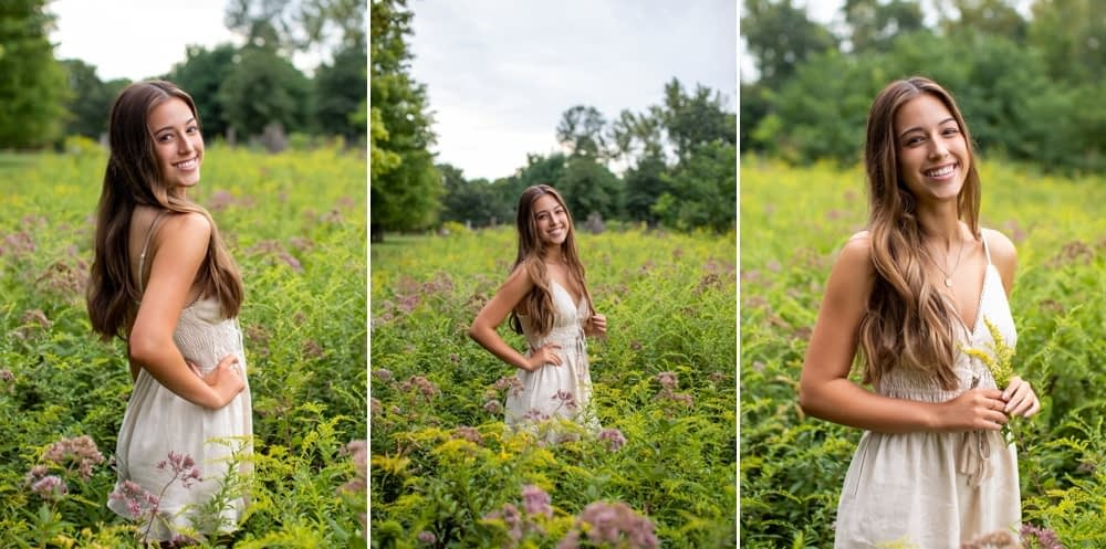 2021 ct senior portraits session at northwest park, ct