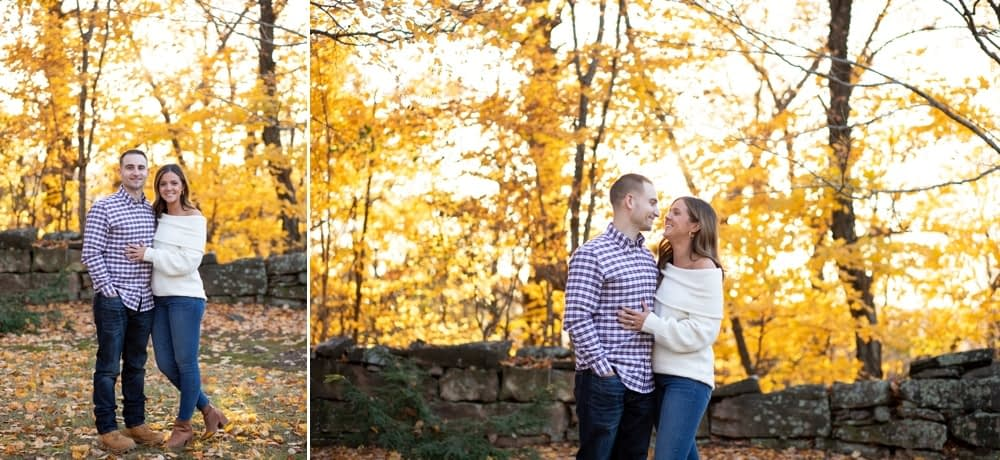 New England Fall Engagement Session